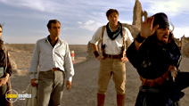 A still #5 from The Mummy Returns (2001) with John Hannah, Brendan Fraser and Oded Fehr