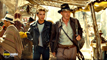 A still #9 from Indiana Jones and the Kingdom of the Crystal Skull with Harrison Ford and Shia LaBeouf