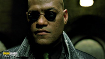 A still #19 from The Matrix Reloaded with Laurence Fishburne