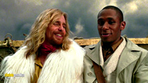A still #2 from The Hitchhiker's Guide to the Galaxy (2005) with Sam Rockwell and Yasiin Bey