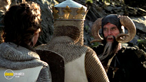 A still #18 from Monty Python and the Holy Grail with John Cleese