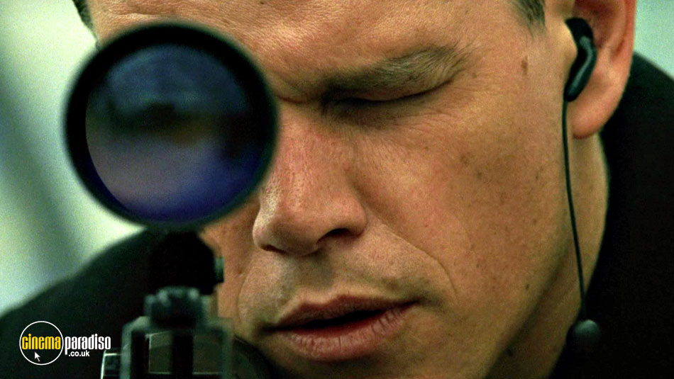 The Bourne Supremacy online DVD rental