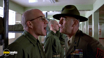 A still #2 from Full Metal Jacket with R. Lee Ermey