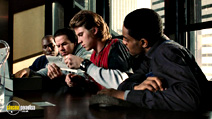 A still #11 from Four Brothers with Mark Wahlberg, Garrett Hedlund and Tyrese Gibson