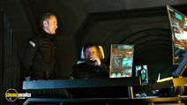 A still #3 from Pandorum with Ben Foster and Dennis Quaid