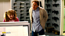 A still #4 from Kick-Ass (2010) with Nicolas Cage and Chloë Grace Moretz