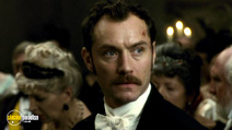 A still #16 from Sherlock Holmes: A Game of Shadows with Jude Law