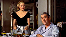 A still #8 from Rear Window with James Stewart and Grace Kelly