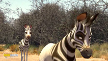 Still #6 from Khumba: A Zebra's Tale