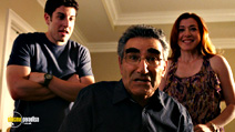 A still #3 from American Pie: Reunion (2012) with Eugene Levy, Jason Biggs and Alyson Hannigan