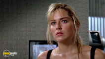A still #15 from Total Recall (1990) with Sharon Stone