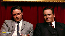 A still #9 from X-Men: First Class with James McAvoy and Michael Fassbender