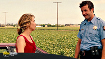 A still #9 from Bridesmaids with Chris O'Dowd and Kristen Wiig