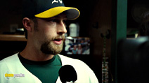A still #9 from Moneyball with Chris Pratt
