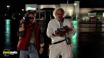 A still #6 from Back to the Future: Part 1 with Christopher Lloyd