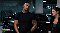 A still #14 from Fast and Furious 6 (2013) with Dwayne Johnson and Gina Carano