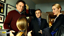 A still #2 from Carnage with John C. Reilly, Christoph Waltz and Kate Winslet