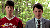 A still #9 from Ferris Bueller's Day Off with Matthew Broderick and Alan Ruck