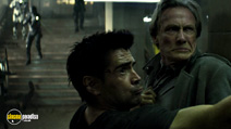A still #2 from Total Recall with Colin Farrell and Bill Nighy