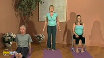 Still #7 from Beat Fatigue with Yoga: Fiona Agombar and Sue Delf