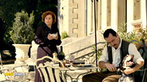 A still #2 from Therese Desqueyroux with Gilles Lellouche and Catherine Arditi