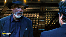 A still #3 from Now You See Me with Morgan Freeman