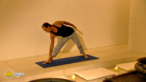 Still #6 from Kisen: Yoga for Weight Loss