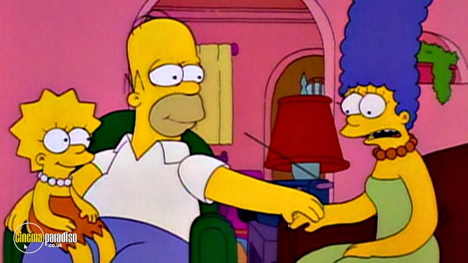 The Simpsons Classics: The Last Temptation of Homer online DVD rental