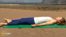 Still #4 from Yoga for the Inflexibles: Beginners and Beyond