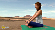 Still #8 from Yoga for the Inflexibles: Beginners and Beyond