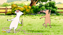 Still #8 from Angelina Ballerina: Big Performance