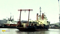 Still #6 from Ships on the River Humber: The Ships of Immingham Dock