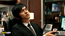 A still #7 from The Green Hornet with Jay Chou