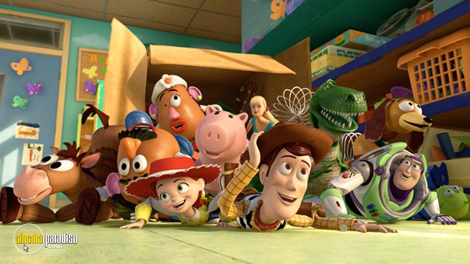 Toy Story 3 online DVD rental