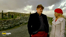 A still #7 from The Guard with Brendan Gleeson and Katarina Cas