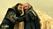 A still #3 from Wrath of the Titans with Ralph Fiennes and Liam Neeson