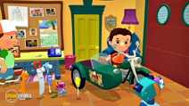 Still #2 from Handy Manny: Motorcycle Adventure