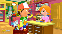 Still #4 from Handy Manny: Motorcycle Adventure