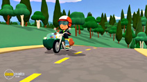 Still #5 from Handy Manny: Motorcycle Adventure