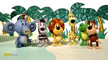 Still #3 from Raa Raa the Noisy Lion: Lots of Raa's in the Jungle