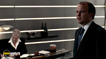 A still #7 from James Bond: Quantum of Solace with Judi Dench and Rory Kinnear