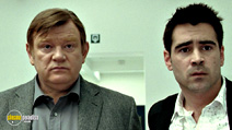 A still #7 from In Bruges with Colin Farrell and Brendan Gleeson