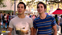 A still #11 from Pitch Perfect with Skylar Astin and Ben Platt