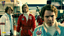 A still #10 from Rush with Jamie De Courcey and Chris Hemsworth