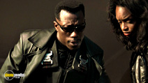 A still #6 from Blade with Wesley Snipes