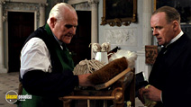 A still #10 from The Remains of the Day with Anthony Hopkins and Peter Vaughan