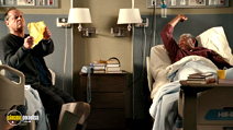 A still #7 from The Bucket List with Jack Nicholson and Morgan Freeman