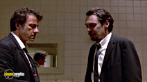 A still #3 from Reservoir Dogs with Steve Buscemi and Harvey Keitel