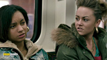 A still #11 from Kidulthood with Red Madrell and Jaime Winstone
