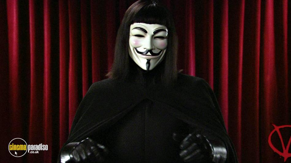 V for Vendetta online DVD rental